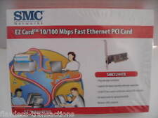 SMC Fast EZ 10/100 Mbps Ethernet PCI Newtwork Card SMC1244TX NEW IN FACTORY BOX