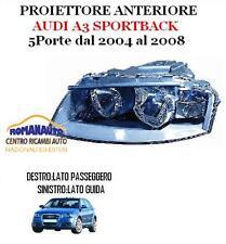 * FARO PROIETTORE AUDI A3 SPORTBACK DA 2005 A 2008 ANTERIORE DESTRO 05-08