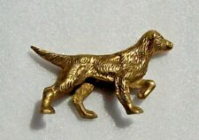 """Solid Brass Pointer Hunting Dog Figure Desk Paper Weight    4.5""""x 2.5""""    9.5ozs"""