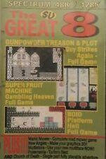 Su la gran 8 ZX Spectrum Computer Video Juegos Cassette. Súper Fruta Máquina +