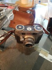 Vintage Kodak Signet 35 Film Camera with Brown Leather Field Case