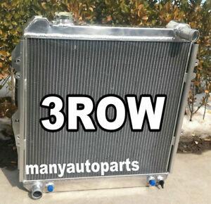 3 row aluminum radiator for TOYOTA PICKUP 4RUNNER 3.0 V6 3VZ-E 1988-1995