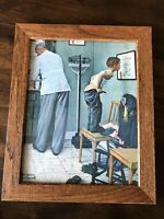 Norman Rockwell Vintage Before The Shot Print