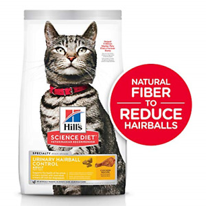 Hill's Science Diet Dry Cat Food, Adult, Urinary & Hairball Control, Chicken 7