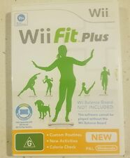 Wii Fit Plus Exercise Nintendo Wii Select Video AUS PAL System VGC