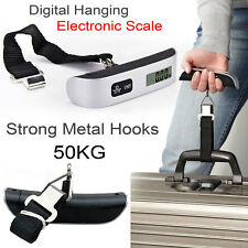 50kg Digital Travel Weighing Luggage Scales Handheld Electronic For Bag/Suitcase