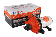 SEAFLO 5.5 GPM Boat Water Pump 12V DC Pressure Switch Washdown Salt Water Safe