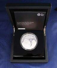 "2015 Silver Proof 5oz £10 coin ""Year of the Sheep"" in Case with COA   (Z1/2)"