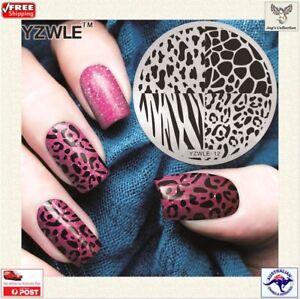 1 Pc Nail Art Template 3D Pattern Polish Stamping Plate Nail Stencil [A3S~B31]