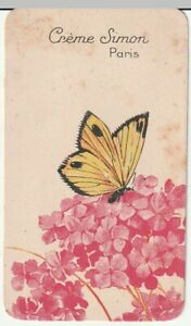 carte parfumée (papillon) crème simon a paris