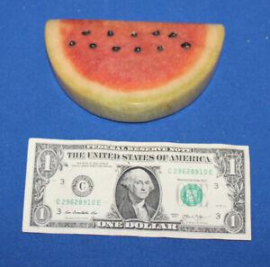 Marble Alabaster Watermelon Slice