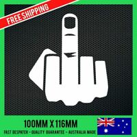 THE FINGER STICKER Decal - DRIFT FUNNY JDM Decals - F*CK YOU Car Sticker Decal