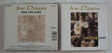 JOE DASSIN (CD)  FOLK AND JAZZY