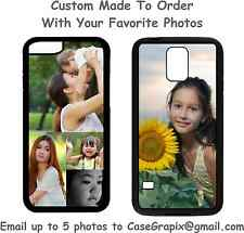For Apple iPhone Custom Personalized Photo Picture Phone Case 4 5 6 7 8 Plus X