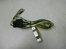 Universal Trailer Hitch 4 Way Flat End Wiring Harness w Long Clip On Ground Wire