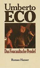 Das Foucaultsche Pendel: Roman von Eco, Umberto   Buch   Zustand gut