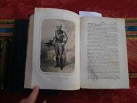1865 Historia General de España Inclusa la Gloriosa Guerra de Africa 8 Láminas