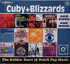 Cuby + Blizzards-The Golden Years A&B sides and More 2 cds Dutch psych