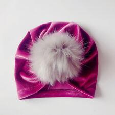 Winter Newborn Toddler Kids Baby Boy Girl Venonat Turban Beanie Hat Headdress UI
