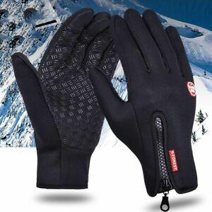 Winter Thermo Handschuhe Fahrrad Handschuhe Wasserdicht Touchscreen Herren