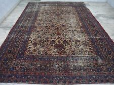 ANTIQUE MASHAD 9X12 HANDMADE PERSIAN LARGE CARPET Dorokhsh tree of life 8x11
