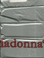 RARE / PETIT SAC PLASTIQUE - MADONNA / SMALL PLASTIC BAG