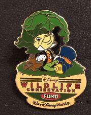 Jiminy Cricket Wdw Disney Pin Wildlife Conservation Fund 2005