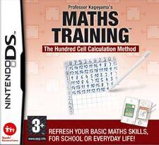 Training di matematica Nintendo DS prof Kageyama