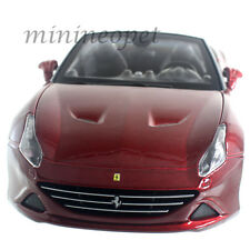 BBURAGO 18-26011 FERRARI CALIFORNIA T OPEN TOP 1/24 DIECAST CAR DARK RED