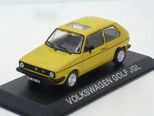 New 1:43 Ixo VW Golf Mk1 GL Yellow n Rabbit Jetta Vento TDi GTi GTD 1.6 1.8 Mk2