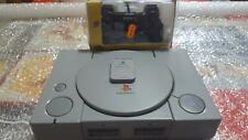 SONY PLAYSTATION PS1 FUNZIONANTE LEGGE TUTTO COMPLETA JOYPAD-CAVO VIDEO-MEMORY