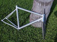 NEW Caribou Ultralight Unpainted Aluminum Road Bike Frame  C130301945