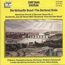 La Smetana vendió novia/Dvorak: eslavas Danza nº 2, 46 partituras/sinfoni... [CD]