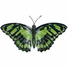 Green Metal Dragonfly Garden//Home Wall Art Ornament 35x28cm Inddor//Outdoor