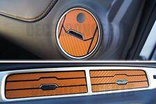 2010-2015 Camaro Orange Carbon Fiber Interior Vent Decal kit - Chevy cover