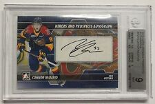 $$ 2013/14 Heroes & Prospects Connor McDavid RC AUTO GRADED 9/10 HOT INVEST!!