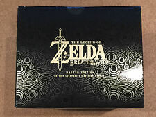 THE LEGEND OF ZELDA BREATH OF THE WILD MASTER EDITION BRAND NEW FACTORY SEALED