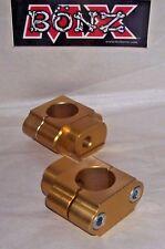 "BAR MOUNTS HUSQVARNA TC125 2014-2015 HUSKY HANDLE BAR CLAMPS 22mm 7/8"" STD BAR"