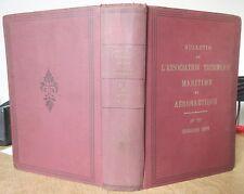 BULLETIN DE L'ASSOCIATION TECHNIQUE MARITIME ET AERONAUTIQUE 1931 AVIONS BATEAUX