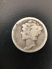 1920 USA Silver One Dime Coin