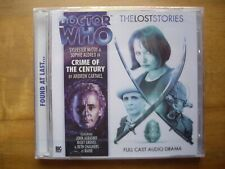 Doctor Who Crime of the Century, Lost Stories, 2010 Big Finish CD *SEALED*