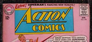 DC SUPERMAN ACTION COMICS Lot of 8 (1963) Silver Age Classics