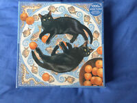 Jigsaw Puzzle 1000  Romulus And Remus   Black Cats