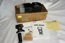 Nikon Speedlight SB-800 flashgun. BOXED.  MINT. COMPLETE.