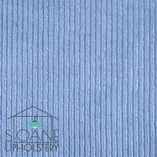 Designer Upholstery Fabric Blue Corduroy Velvet Craft Design Curtain Material UK
