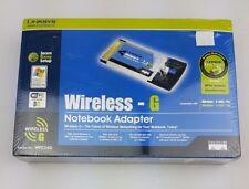 Linksys WPC54G (5051964017530) Wireless Notebook Adapter