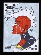 2017 Upper Deck Marvel Premier Sketch Cards 1/1 Brian James Fichtner #BRJF Storm