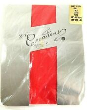 Vintage Red Pantyhose Stockings Size 1X - 2X Lingerie Costume Valentines