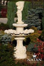 Springbrunnen Garten Teich Brunnen  Steinbrunnen Gartenbrunnen Stein Fontaine