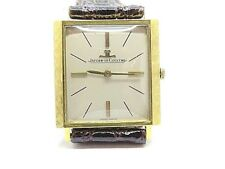 JAEGER LE-COULTRE Calibre 818/c Men Watch 18k. Yellow Gold Mechanical 60's